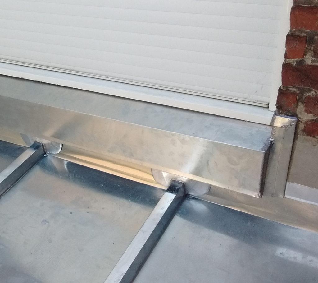 renovation appuie de fenetre en zinc