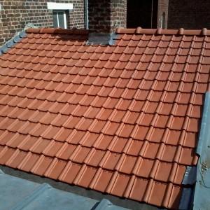 travaux petite toiture en tuiles