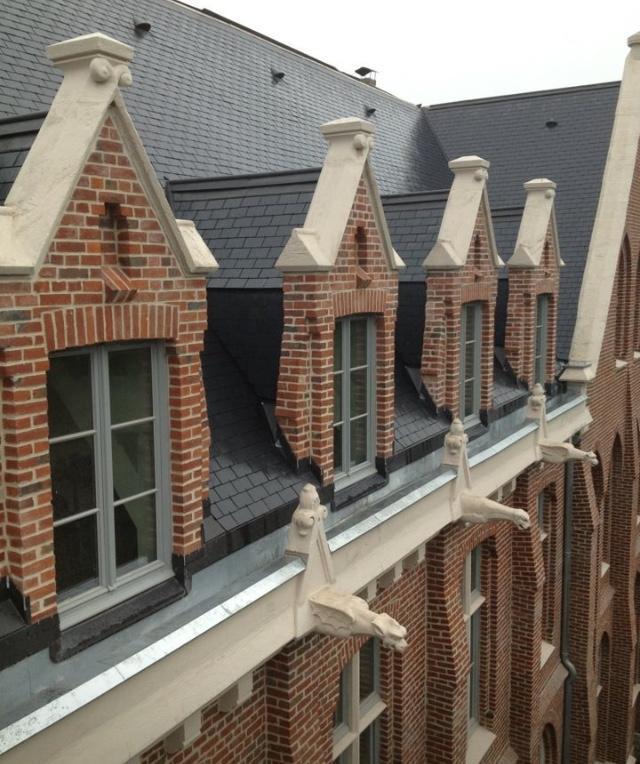 Travaux de rénovation de toiture en ardoises à Lille