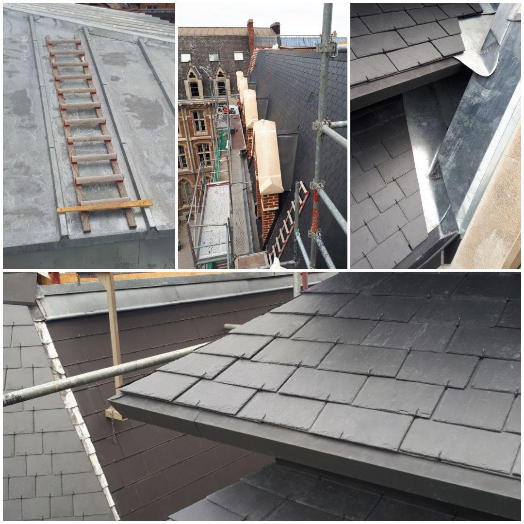Travaux de toiture, isolation et zinguerie près de Croix, Roubaix et Wasquehal